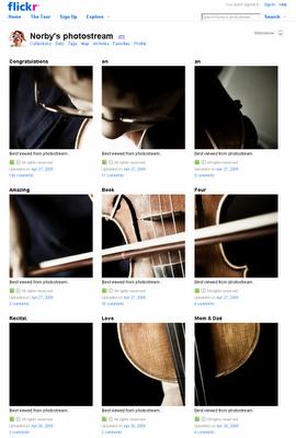 Flickr-stream