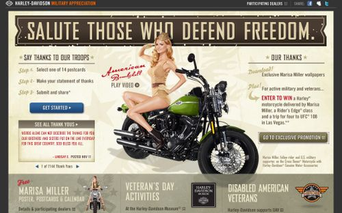 Harley Vetrans Day